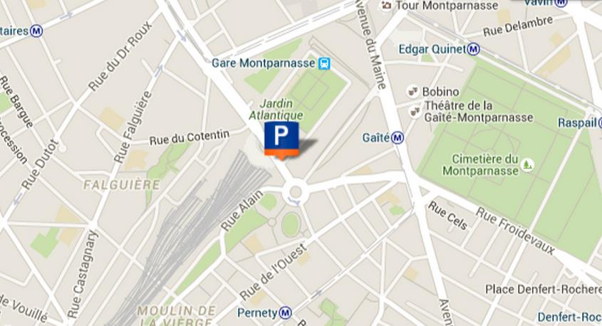 parking pasteur gare montparnasse. Black Bedroom Furniture Sets. Home Design Ideas